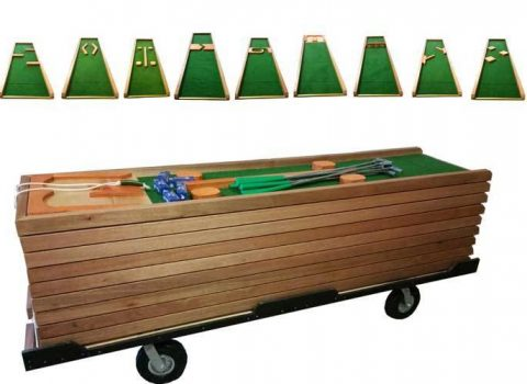 Mobil minigolf baner